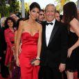 """Hoda Roche et Jean-Claude Darmon lors de la projection du documentaire """"Belmondo, itinéraire..."""", le 17 mai 2011, dans le cadre du 64e festival de Cannes."""