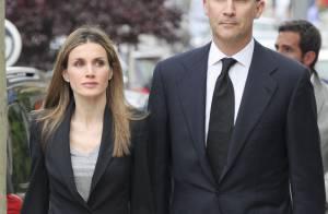 Letizia d'Espagne et la famille royale dans le deuil...