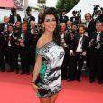 lors de la montée des marches du film La Conquête le 18 mai 2011 à l'occasion du 64e Festival de Cannes