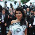 Reem Kherici lors de la montée des marches du film La Conquête le 18 mai 2011 à l'occasion du 64e Festival de Cannes