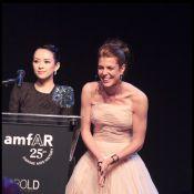 AmfAR 2011 : Charlotte Casiraghi, étoile sublime avec Albert et sa Charlene !