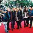 Vincent Latorre, Cécile Auclert, Thierry Redler, Christiane Jean, Christophe Rippert, Hélène LE Moignic et Gérard Vives au Mip de Cannes en septembre 1994
