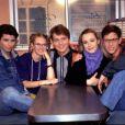 Boris Haguenauer, Christophe Rippert, Fabien Remblier, Julie Caignault et Magalie Madison dans Premiers Baisers