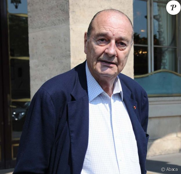 Jacques Chirac, à Paris, le 26 avril 2011.