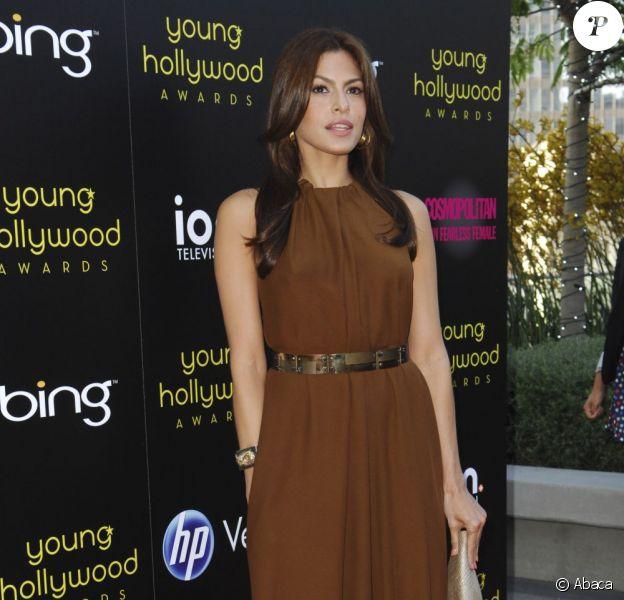 Eva Mendes assiste à la soirée des Young Hollywood Awards 2011, au Nokia Club de Los Angeles, vendredi 20 mai 2011.