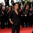 Leila Bekhti est éblouissante sur le tapis rouge de Cannes le 22 mai 2011