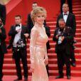Jane Fonda éblouissante sur le tapis rouge de Cannes le 22 mai 2011