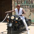 Christian Audigier fête ses 53 ans aux côtés de sa belle le mannequin brésilien Nathalie Sorensen dans son ranch de Topanga Canyon à Malibu le samedi 21 mai 2011