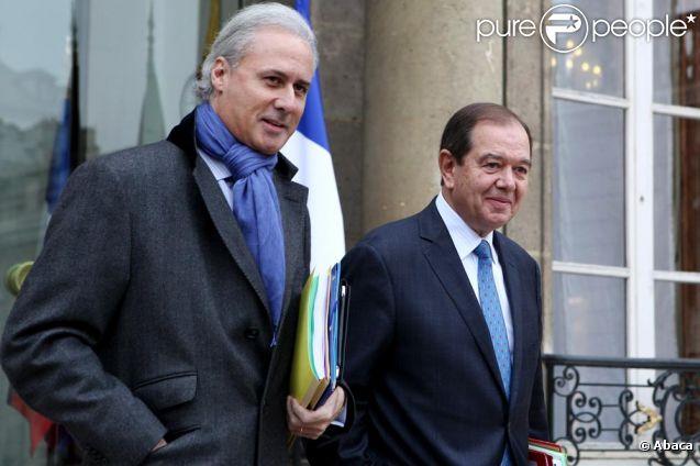 Georges Tron secrétaire d'Etat du gouvernement de Nicolas Sarkozy