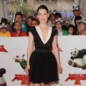Lucy Liu très décolletée et sous le charme des pitreries de Jack Black !