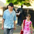 Michael Douglas et sa fille Carys Zeta se baladent dans les rues de New York, le 25 mai 2011