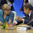 Nicolas Sarkozy et Angela Merkel Deauville, le 26 mai  2011.