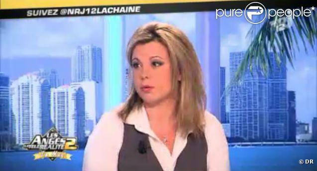 Cindy Lopes invitée sur le plateau des Anges de la télé-réalité 2 : Miami Dreams