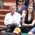PPDA et Rachel Marsden au tournoi de Roland-Garros, le lundi 30 mai 2011.