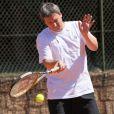 François Pecheux a été éliminé en 1/4 de finale du Trophée des Personnalités organisé par Framboise Holtz à Roland Garros, le 1er juin 2011