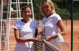 Roland-Garros: Anne-Sophie Lapix et Denis Brogniart battus mais avec le sourire!