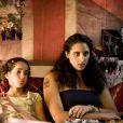 Iman Perez et Roxane Depardieu sur le tournage du film Un Baiser papillon