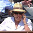 Roselyne Bachelot à Roland-Garros, le 3 juin 2011