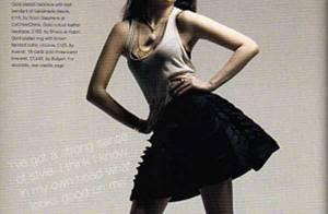 La belle-fille de Gwen Stefani est top model !