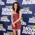 Kristen Stewart lors des MTV Movie Awards qui se sont tenus au Gibson Theatre de Los Angeles, le 5 juin 2011.