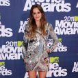 Leighton Meester lors des MTV Movie Awards qui se sont tenus au Gibson Theatre de Los Angeles, le 5 juin 2011.