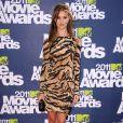 Rosie Huntington-Whiteley lors des MTV Movie Awards qui se sont tenus au Gibson Theatre de Los Angeles, le 5 juin 2011.