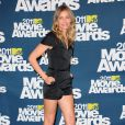 Cameron Diaz lors des MTV Movie Awards qui se sont tenus au Gibson Theatre de Los Angeles, le 5 juin 2011.