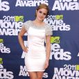 Emma Watson lors des MTV Movie Awards qui se sont tenus au Gibson Theatre de Los Angeles, le 5 juin 2011.