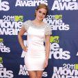 Emma Watson lors des MTV Movie Awards qui se sont tenus au Gibson Theatre de Los Angeles, le 5 juin 2011.