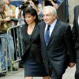 DSK et Anne Sinclair soudés arrivent au tribunal le 6 juin 2011