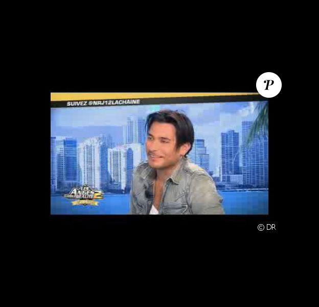 John-David est l'invité des Anges de la Télé-Réalité - Le Mag, sur NRJ 12, lundi 6 juin 2011.