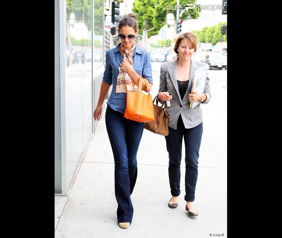 affordable bag - Katie Holmes a un nouveau chouchou : son sac Herm��s mod��le Picotin ...