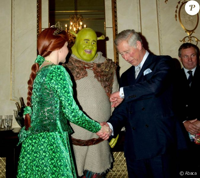 Le prince charles shrek nigel lindsay et la princesse - Princesse qui danse ...