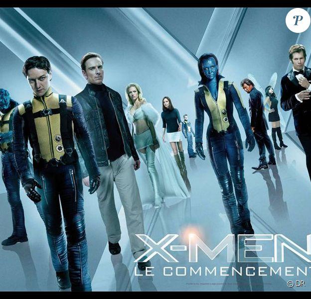 Des images de X-Men : Le Commencement, sorti le 1er juin 2011.