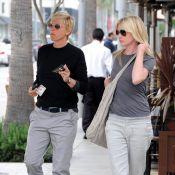 Ellen DeGeneres et Portia de Rossi : Les années n'altèrent pas leur passion !