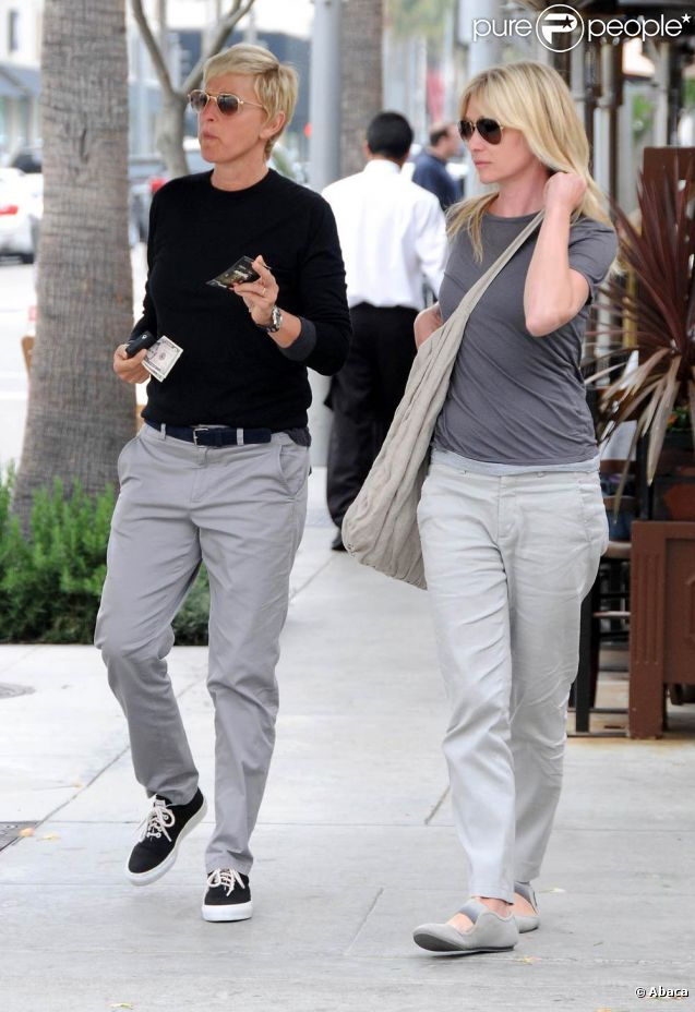 Ellen degeneres et portia de rossi les ann es n 39 alt rent for Ellen degeneres and portia de rossi story
