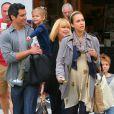 Jessica Alba, Cash Warren et leur fille Honor à Beverly Hills le 11 juin 2011
