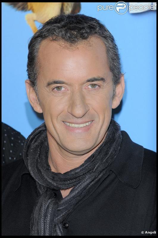 Christophe Dechavanne lors du photocall de L'Age de Glace 3 au Park Hyatt à Paris en juin 2009