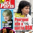 Couverture du magazine Ici Paris