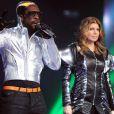 Les Black Eyed Peas sur le plateau de  X Factor , sur M6, le 17 mai 2011.