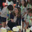 """"""" Letizia d'Espagne séduit tout le monde, des enfants au prince Felipe ! Gérone, 22 juin 2011 """""""