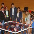 """""""Letizia d'Espagne et le prince Felipe illuminent la Fondation du Prince  de Gérone qui a pour but d'aider les enfants espagnols. Gérone, 22 juin  2011"""""""