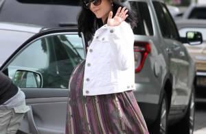 Selma Blair, très enceinte, bien remise de son accident de voiture !