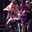 Britney Spears lors de son concert Femme Fatale à Las Vegas, le 25 juin 2011.