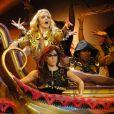 Britney Spears lors de son concert Femme Fatale à Las Vegas, le 25 juin 2011. Ici dans un décor égyptien.