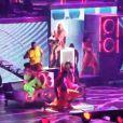 Britney Spears interprète Big Fat Bass, à Las Vegas, le 25 juin 2011.