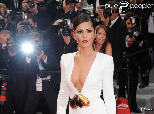 Cheryl Cole dans son rôle de L'Oréal Girl, lors du 64e Festival de Cannes, en mai 2011.