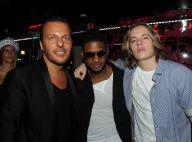 Usher a mis le feu au VIP Room en compagnie de son fan, Pierre Sarkozy
