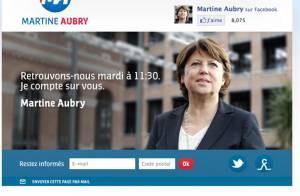 Martine Aubry, 'Action Woman' inattendue, affole la Toile
