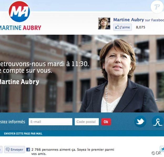 Le logo de Martine Aubry a fait bruisser la Toile, qui a fait bien des rapprochements...